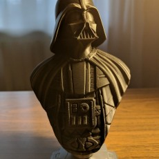 Picture of print of Darth Vader bust 这个打印已上传 Timur Makaveyev