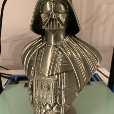 Picture of print of Darth Vader bust 这个打印已上传 Kevin Zeringue