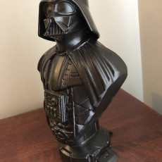 Picture of print of Darth Vader bust 这个打印已上传 Whitt