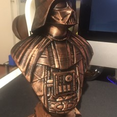 Picture of print of Darth Vader bust 这个打印已上传 julian