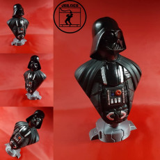 Picture of print of Darth Vader bust 这个打印已上传 JBILOEB