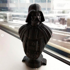 Picture of print of Darth Vader bust 这个打印已上传 Ruslan Riyanov