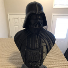 Picture of print of Darth Vader bust 这个打印已上传 Kazibole