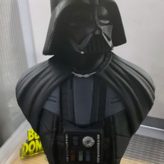 Picture of print of Darth Vader bust 这个打印已上传 Burak Donertas