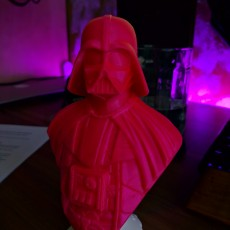 Picture of print of Darth Vader bust 这个打印已上传 Matúš Holický