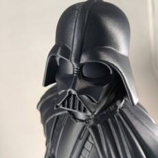 Picture of print of Darth Vader bust 这个打印已上传 Eric Joe