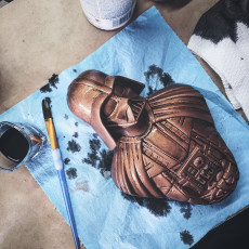 Picture of print of Darth Vader bust 这个打印已上传 Enrique Ferrer