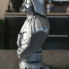 Picture of print of Darth Vader bust 这个打印已上传 Matthias Huß