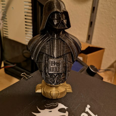 Picture of print of Darth Vader bust 这个打印已上传 Uğur Güver