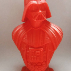 Picture of print of Darth Vader bust 这个打印已上传 Rodo Nicodemes