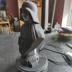 Picture of print of Darth Vader bust 这个打印已上传 Patrick Born