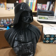 Picture of print of Darth Vader bust 这个打印已上传 Adrien Lacoste