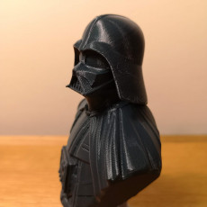 Picture of print of Darth Vader bust 这个打印已上传 Rex Bigger