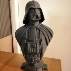 Picture of print of Darth Vader bust 这个打印已上传 Bruno Sgd