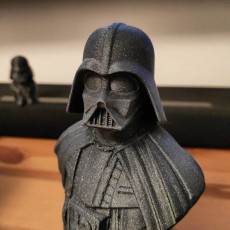 Picture of print of Darth Vader bust 这个打印已上传 Radosław Neumann