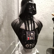 Picture of print of Darth Vader bust 这个打印已上传 Herr Wirsch