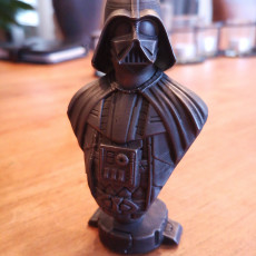 Picture of print of Darth Vader bust 这个打印已上传 stijn peeters