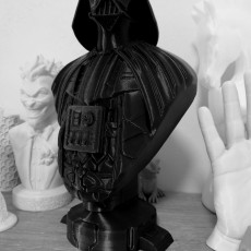 Picture of print of Darth Vader bust 这个打印已上传 Juanjo