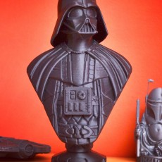 Picture of print of Darth Vader bust 这个打印已上传 Ernesto Soler