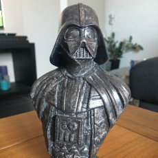 Picture of print of Darth Vader bust 这个打印已上传 Tom Mulders