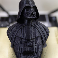 Picture of print of Darth Vader bust 这个打印已上传 Eloy RICARDEZ