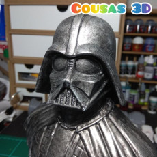 Picture of print of Darth Vader bust 这个打印已上传 Carlos Prieto Marquez