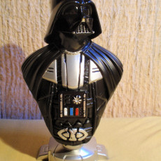 Picture of print of Darth Vader bust 这个打印已上传 Pavel Dušek