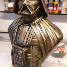 Picture of print of Darth Vader bust 这个打印已上传 Manuel Castro