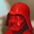 Darth Vader bust print image
