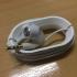 Headphone Holder print image