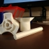 Filament Guide and Spool Enclosure image