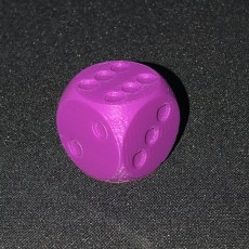 6 sided die
