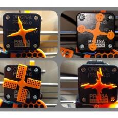 NEMA (extruder) motor rotation indicator (Prusa MK2(S)/MK2.5/MK3)