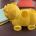 Pigs on wheels desk caddy image