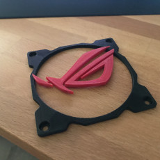 Picture of print of Fan Grill 120mm Republic of Gamers Logo 2 pieces