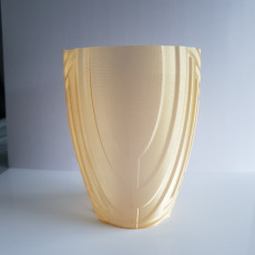Picture of print of Triangle ripple vase, pot