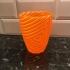 Triangle ripple vase, pot image
