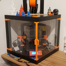 3D Printable PSU Holder with fan for Prusa MK3 Ikea Lack