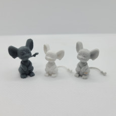 Picture of print of Dash the Mouse