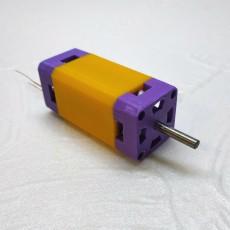 Single Central Magnet  (SCM) Motor