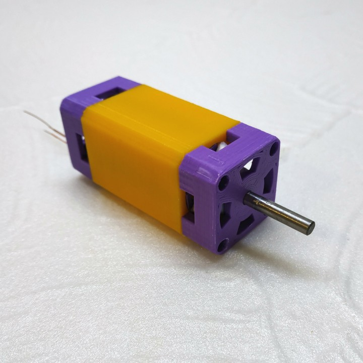 Single Central Magnet  (SCM) Motor