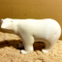 Polar Bear print image