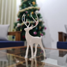 Picture of print of Christmas Deer Questa stampa è stata caricata da Simply Engineered