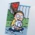 Rick & Morty Fridge Magnet image
