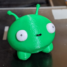 Picture of print of Mooncake - Final Space
