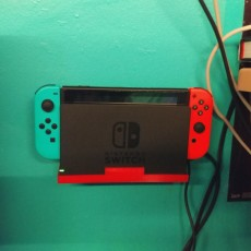 Picture of print of Nintendo Switch Wall Dock Holder