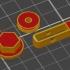 Lateral Prusa mk3 filament guide image