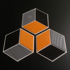 Picture of print of Modern Coasters - Hexagonal