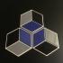 Modern Coasters - Hexagonal print image