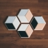 Modern Coasters - Hexagonal image